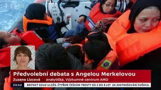 Předvolební debata s Angelou Merkelovou