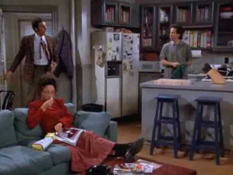 Every Kramer entrance on Seinfeld ever.