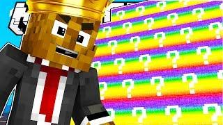 Minecraft KING OF THE HILL RAINBOW LUCKY BLOCK BATTLE MODDED MINIGAME!   Minecraft Mod Challenge
