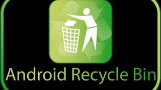 Recycle Bin PRO for Android YouTube video