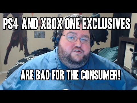 consumers - Just wanted to talk to you about why xbox one and playstation 4 exclusives, like watch dogs dlc and destiny dlc, or exclusive games that SHOULD be multiplatf...