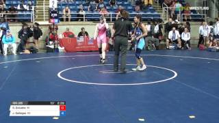 Cadet WM 106 Rnd 16 - Gwendolyn Golueke (WI) vs. Jaslynn Gallegos (CO)