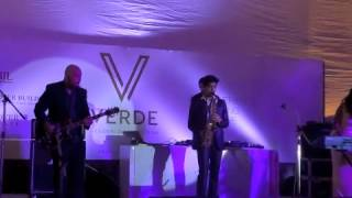 SOUL YATRA spins... Retro Jazz n Blues...at VERDE ( with RHYS)