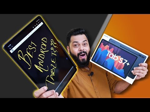 Samsung Galaxy Tab S7 Plus Unboxing & First Impressions ⚡⚡⚡ The Best Android Tablet You Can Buy.