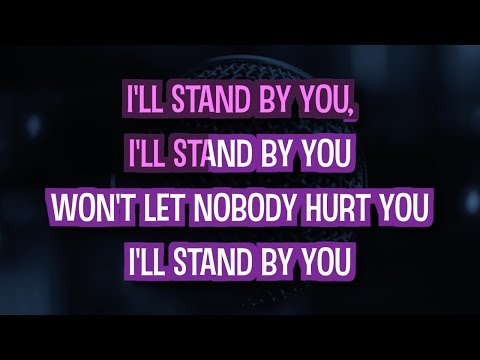 I'll Stand By You Karaoke Version by The Pretenders (Video with Lyrics)