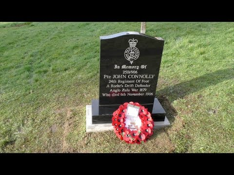 The Story of Pte John Connolly   Rorke's Drift - Presented by Greg Ballantine