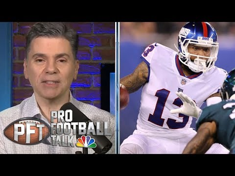 Video: Odell Beckham Jr. has potential to get traded away from New York | Pro Football Talk | NBC Sports