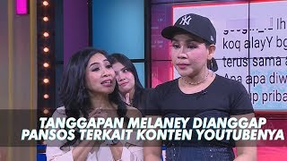 Video RUMPI - Tanggapan Melaney Yang Dianggap Pansos Terkait Video Youtubenya (8/7/19) Part 3 MP3, 3GP, MP4, WEBM, AVI, FLV Juli 2019