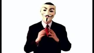 Anonymous ultima advertencia, habla sobre Megaupload