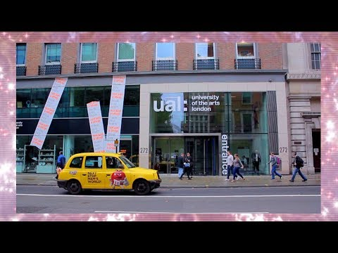 UAL: LONDON COLLEGE OF FASHION OPEN DAY Vlog