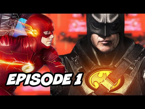 Crisis On Infinite Earths Episode 1 Batman Superman - TOP 10 WTF and Easter Eggs