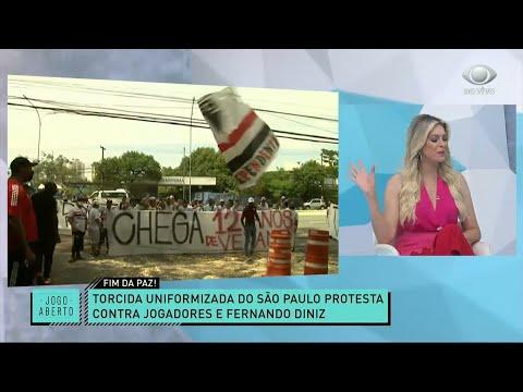 RENATA E RONALDO COMENTAM SOBRE PROTESTO NO SÃO PAULO | JOGO ABERTO