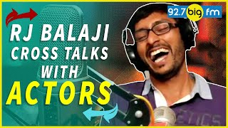 Video Rj Balaji Cross Talks With Actors MP3, 3GP, MP4, WEBM, AVI, FLV November 2017