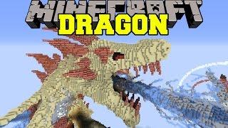 Minecraft: DRAGON APOCALYPSE VS TNT - Build Creation - Map