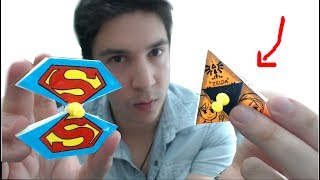 Video Faire des Hand Spinner en PAPIER ?! (Superman, Zelda, Minecraft..) MP3, 3GP, MP4, WEBM, AVI, FLV Juli 2017