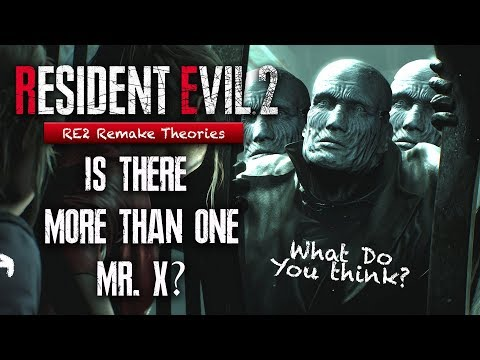 Are There Multiple Mr X's In Resident Evil 2 Remake | More Than 1 Tyrant? | RE2 Remake Theory
