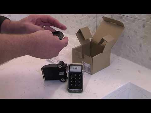 3681 Electronic Built-In Locker Lock Installation