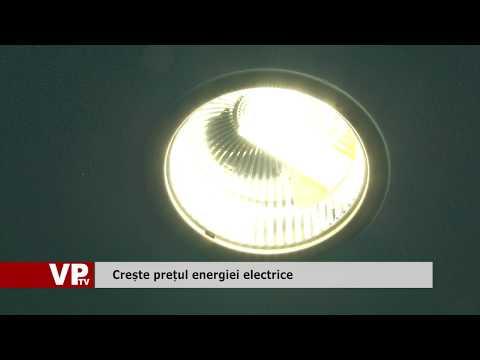 Crește prețul energiei electrice