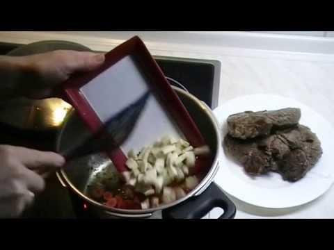Rinderbraten im Schnellkochtopf zubereitet