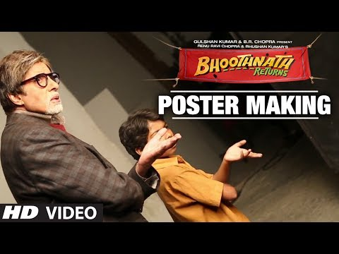 Bhoothnath Returns: Making of Poster