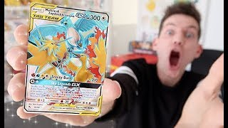 INSANE 42 Pokemon *Hidden Fates* Booster Opening by Unlisted Leaf
