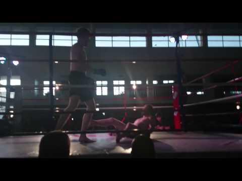 Finishing punch Frans Steyn Vs Juan Lagrotteria