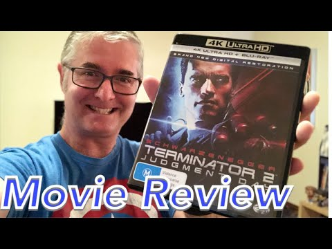 Terminator 2: Judgment Day - 4K Blu Ray Review