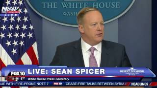 FULL: Sean Spicer's FIRST White House Press Briefing