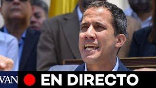 [EN DIRECTO] Guaidó denuncia un 'estado de alarma' por el corte de luz