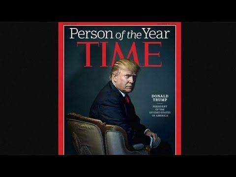 Ο Ντόναλντ Τραμπ πρόσωπο της χρονιάς σύμφωνα με το TIME