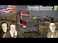Amerykańskie Gospodarstwo w Californi ☆ Prasowanie przed TORNADEM FS 17 #4 ㋡ MafiaSolec Jarro, Friku