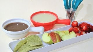 White Chocolate Fondue Recipe in Tamil