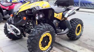 10. can am renegade xxc 800 2011 & outlander max  xtp 2010