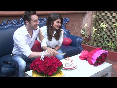 Shama Sikander & Jemes Milliron Celebrate Valentine Day Special