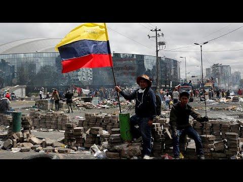 Ισημερινός: Συμφωνία ανακωχής κυβέρνησης – διαδηλωτών