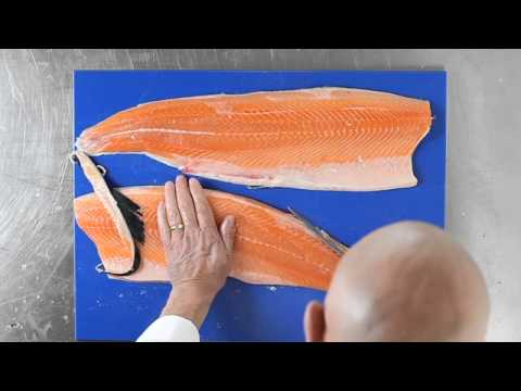 How To Fillet Salmon
