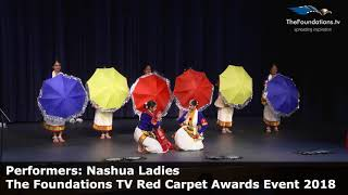 Nashua Ladies performing at The Foundations TV Red Carpet