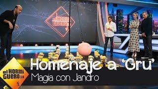 Jandro predice el futuro profesional de Steve Carell y Kristen Wiig - El Hormiguero 3.0