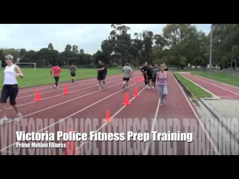 Police Fitness Training – Lots of training drills!