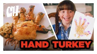 This Hilarious Video Imagines A World Where Hand Turkeys Are An Actual Thanksgiving Delicacy