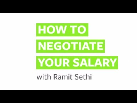 how to properly negotiate salary