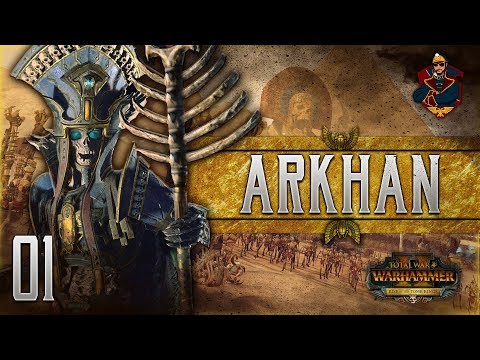 ARKHAN THE BLACK OF NAGASH! | WARHAMMER II - Vortex Campaign (Tomb Kings) #1