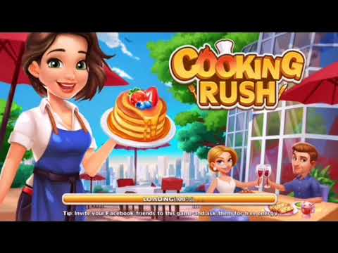 Cooking Rush Gameplay 2017 [HD] 20 Levels Completed