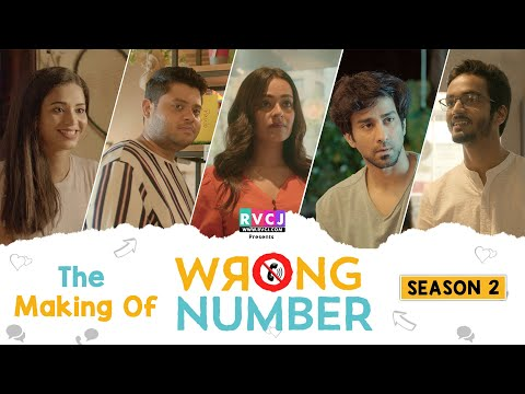 The Making Of Wrong Number | Apoorva, Ambrish, Badri, Anjali & Parikshit | RVCJ Originals