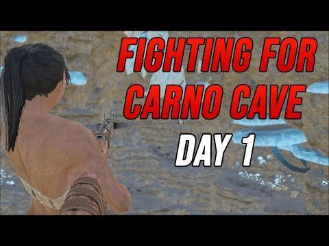 FIGHTING For A Contested Base Spot Day One - Ark MTS Chapter 2 S2 Ep. 1