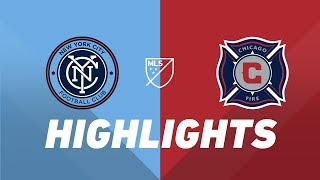 New York City FC vs. Chicago Fire   HIGHLIGHTS - April 24, 2019 by Major League Soccer