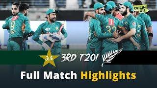 Full Match Highlights: Pakistan vs New Zealand, 3rd T20I, Dubai