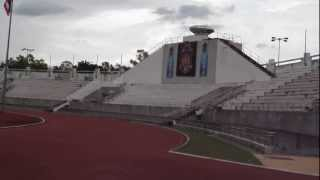 Main Stadium, 700th Anniversary Chiang Mai Sports Complex, Chiang Mai, Thailand. 2nd Sept 2555.