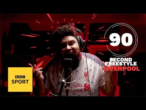Big Zuu's Amazing Freestyle For Liverpool FC's Premier League Title Run-in | BBC Sport