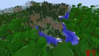 Minecraft World Generator Seed = 87